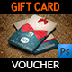 Gift Voucher Card Template Vol.26