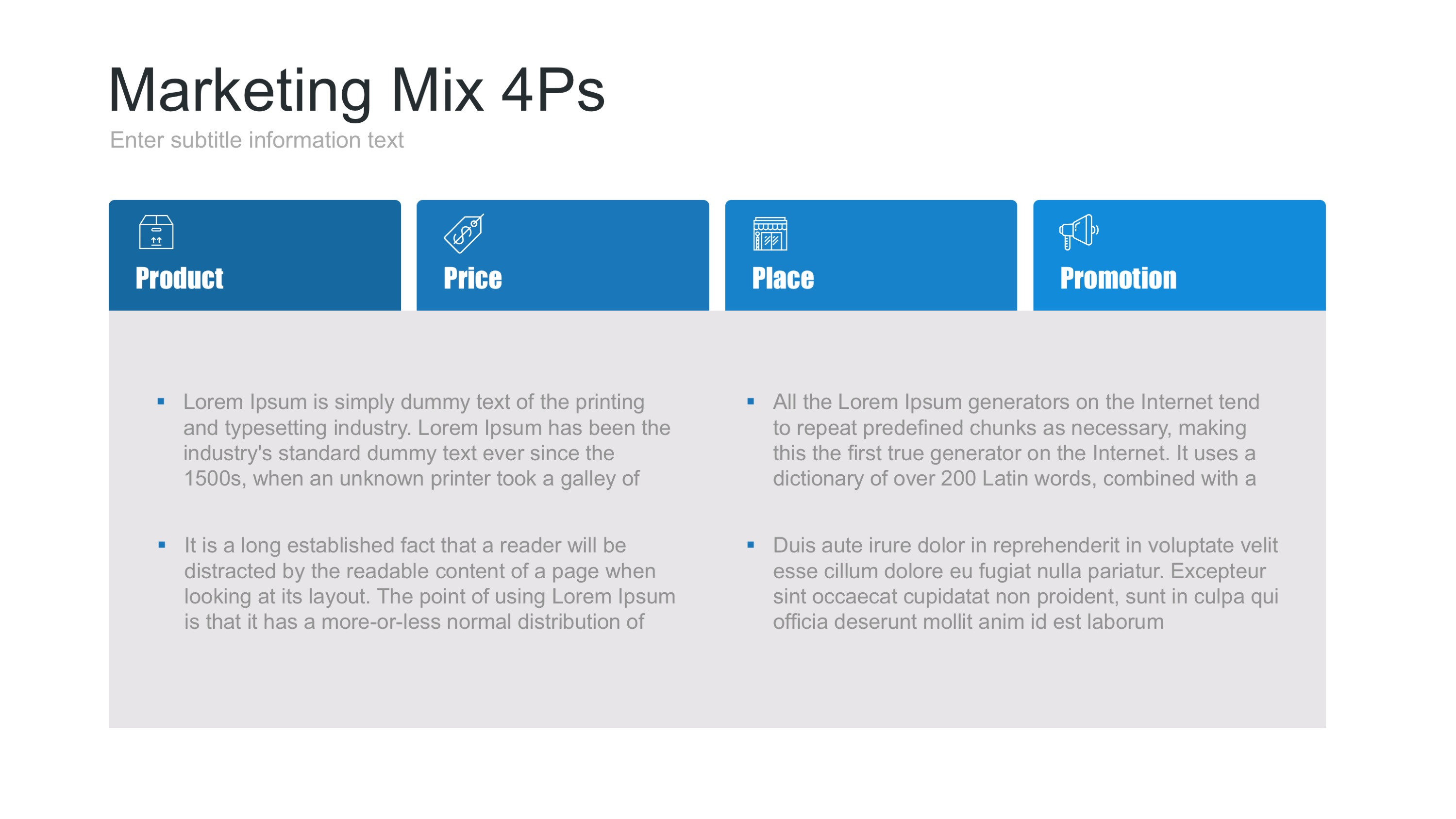 marketing mix keynote template by site2max