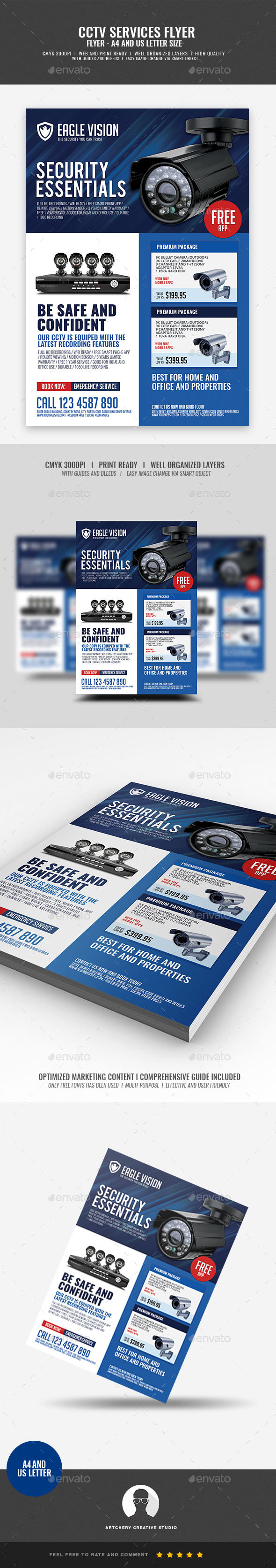 CCTV Camera Center - Corporate Flyers