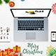 Christmas Gadgets Mockup - GraphicRiver Item for Sale