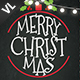 Christmas Greeting Postcard V05 - GraphicRiver Item for Sale
