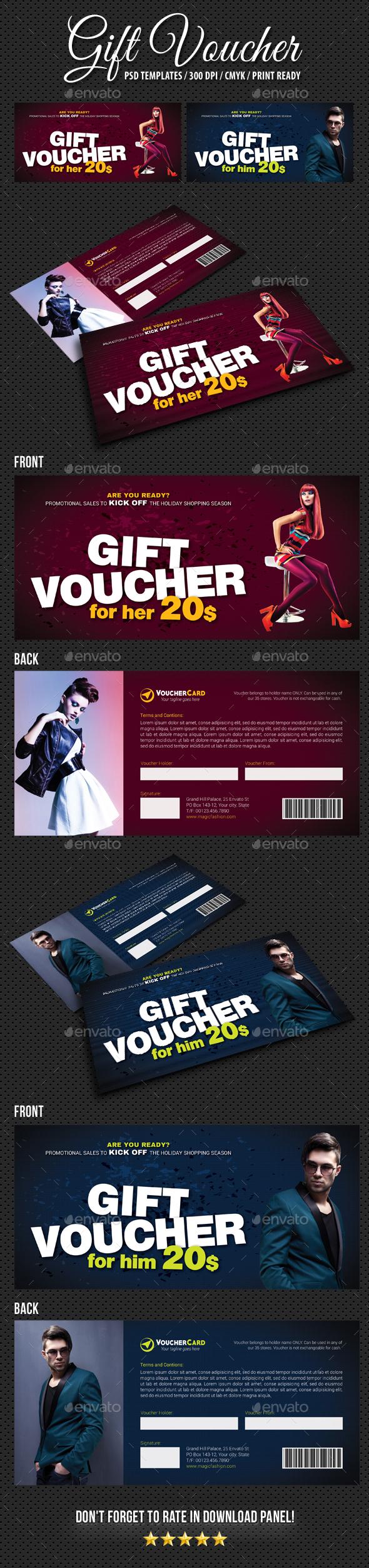 GraphicRiver Gift Voucher V11 21010515