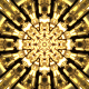 Gold Kaleidoscope Background - VideoHive Item for Sale