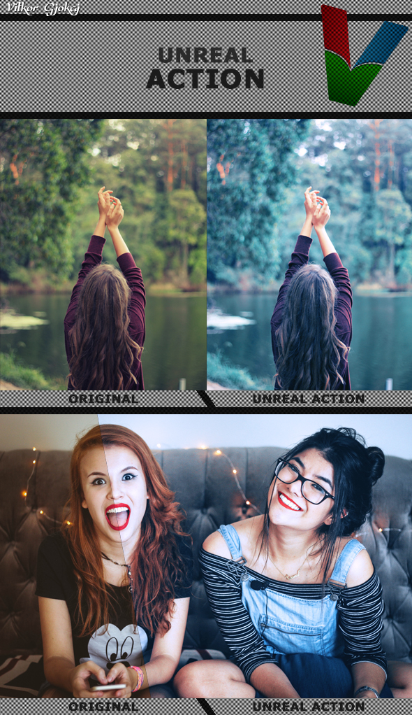Unreal Action - Photo Effects Actions