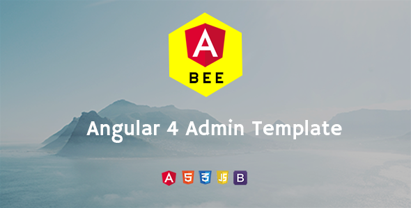 BEE-System Angular 4 Admin Template