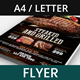Grill House Promotional Flyer - GraphicRiver Item for Sale