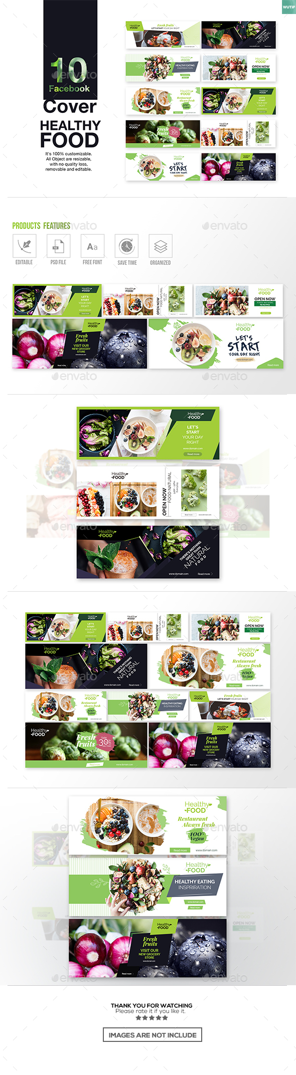 10 Facebook Cover- Healthy Food - Facebook Timeline Covers Social Media