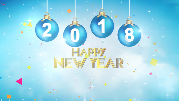 New Year Greetings 2018 By Motionphysix Videohive