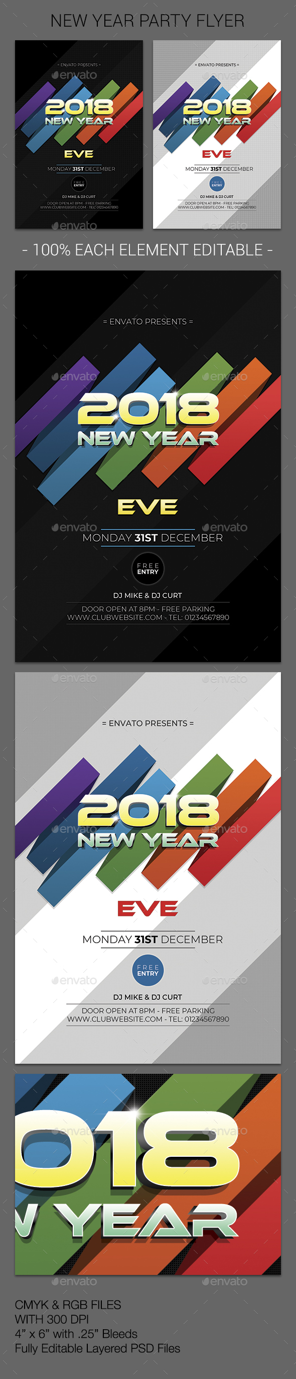 GraphicRiver New Year 21011199