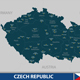 Map of Czech Republic - GraphicRiver Item for Sale
