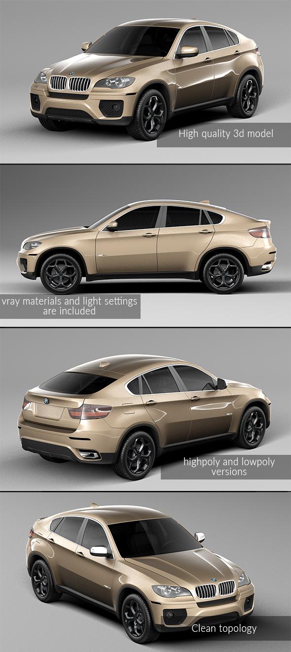 3DOcean BMW X6 2014 21011598