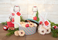 Homemade egg nog and Christmas cookies - PhotoDune Item for Sale
