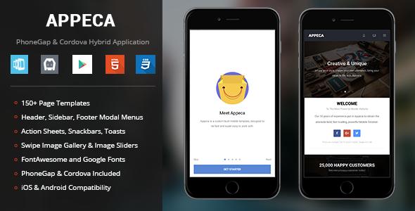 Appeca   PhoneGap & Cordova Mobile App
