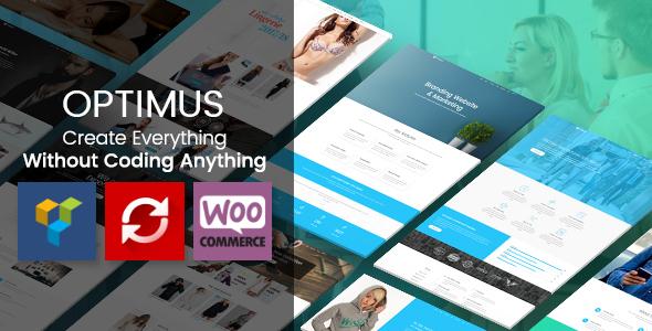 Optimus - Responsive Multipurpose WordPress Theme - Creative WordPress