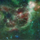 Travel Through Abstract Nebulae in Space - VideoHive Item for Sale