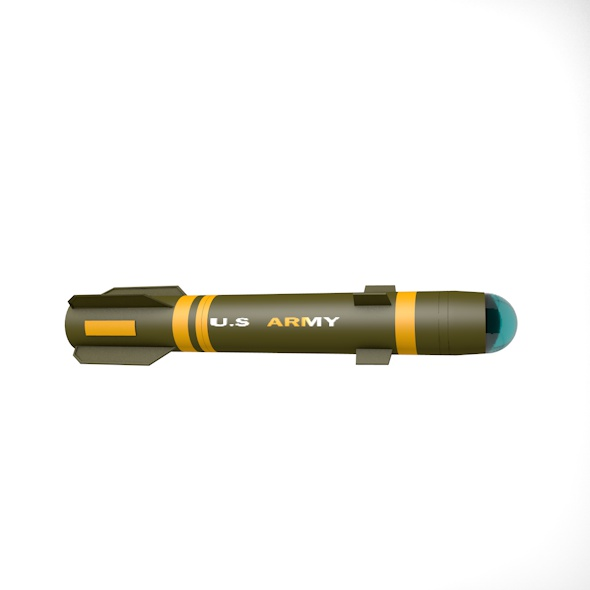Helfire missile - 3DOcean Item for Sale