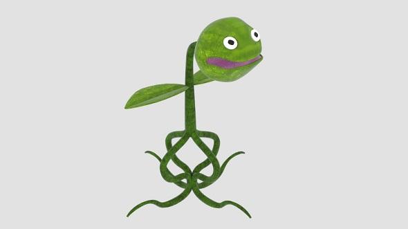 3DOcean Carnivore Plant Cartoon 21011751