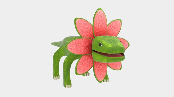 Petal Monster Lizard - 3DOcean Item for Sale