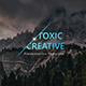 Toxic v2 Creative Google Slide Template