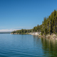 Yellowstone Lake with forest landscape - PhotoDune Item for Sale