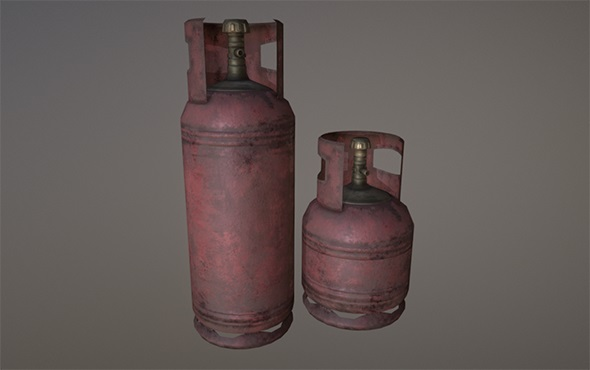 3DOcean Gas cylinders 21011884