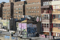 Manhattan buildings with graffiti - PhotoDune Item for Sale