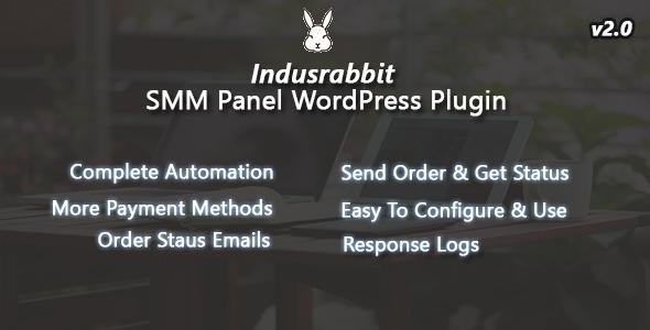 Indusrabbit - SMM Panel WordPress Plugin - CodeCanyon Item for Sale