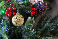 Closeup of Christmas-tree - PhotoDune Item for Sale