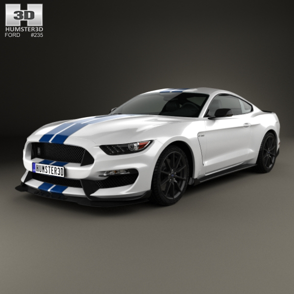 Ford Mustang Shelby GT350 2015 - 3DOcean Item for Sale
