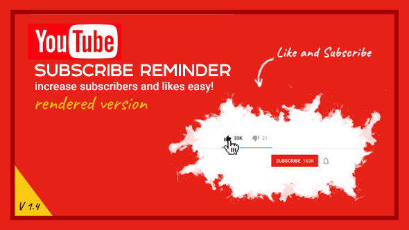 Youtube Subscribe Reminder Overlay V 1 4 By