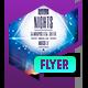 Club Flyer: Aurora Nights