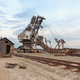 Broken rusty giant quarry excavator - PhotoDune Item for Sale