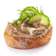 toasted bread with homemade liver pate - PhotoDune Item for Sale