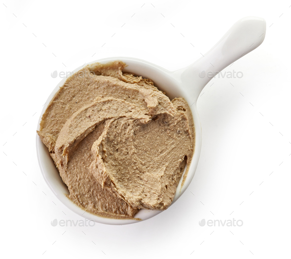 bowl of liver pate - Stock Photo - Images