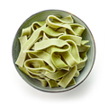 bowl of egg noodles with spinach - PhotoDune Item for Sale