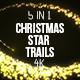 Christmas Star Trails