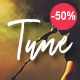 Tune - One-Page Music WordPress Theme