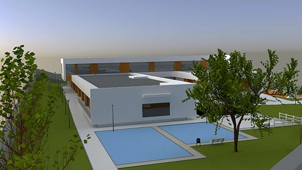 Nordic Building Design - 3DOcean Item for Sale