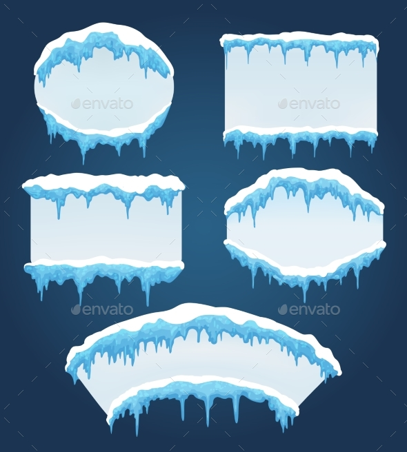 GraphicRiver Icicles Boards for Sale 21013605