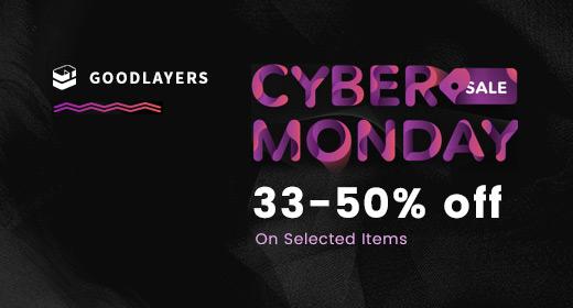 GoodLayers' Cyber Monday 2017