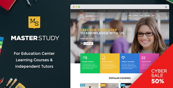 Masterstudy - Education WordPress Theme for Learning, Training and Education Center - Education WordPress