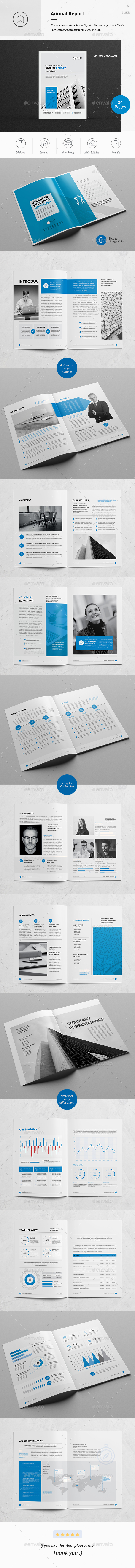 GraphicRiver Annual Report 28 Pages 21014448