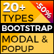 Responsive Bootstrap Modal And Popup