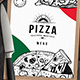 Pizza Menu Templates - GraphicRiver Item for Sale