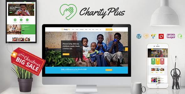 Image of Charity Plus - Multipurpose Nonprofit WordPress Theme