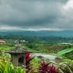Cloudy Over the Jatiluwih Rice Terraces in Bali, Indonesia - VideoHive Item for Sale