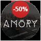 Amory Blog - A Responsive WordPress Blog Theme - ThemeForest Item for Sale