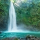 Wonderful Scenery of Nungnung Waterfall in Bali - VideoHive Item for Sale