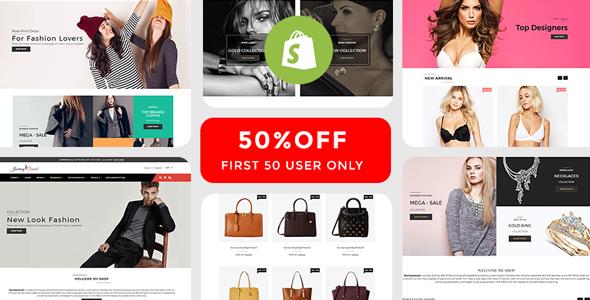Journey Casual - Multipurpose Fashion Shopify Theme - Fashion Shopify