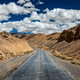 Trans-Himalayan Manali-Leh highway road. Ladakh, Jammu and Kashm - PhotoDune Item for Sale